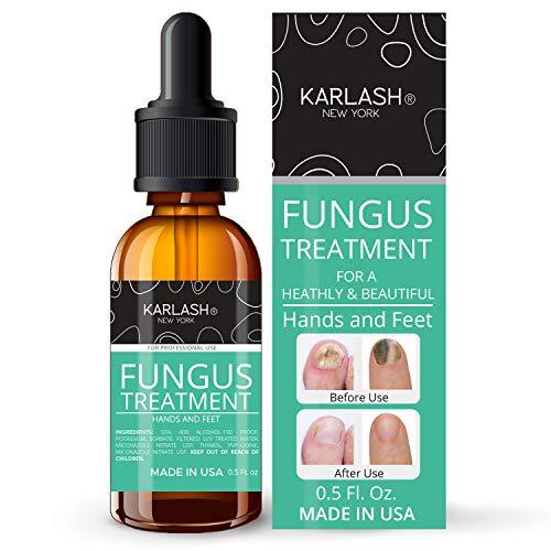 Karlash Finger & Toenail Fungus Treatment Kit EXTRA STRONG Made in USA Nail Fungus Care Nails Toe Nail 0.5 oz (Pack of 1)