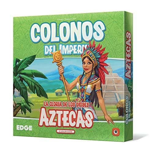 Edge Entertainment- Colonos del Imperio: Aztecas - Español, Color (EEPGIS06)