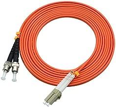 LC/SC/FC/ST 62.5/125 Duplex Multimode 3.0mm Fiber Optic Patch Cable (15m, LC-ST)