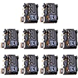 Liluyao Csdfer 10 PCS for Huawei Jack Ecouteur P10