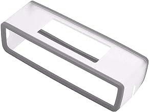BeesClover - Funda de silicona portátil para altavoz Bose SoundLink Mini 1 2 Sound Link I II Bluetooth, funda protectora para altavoces gris gris