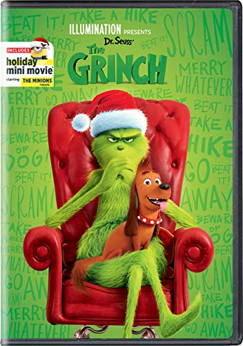 Illumination Presents: Dr. Seuss' The Grinch (cover may vary)