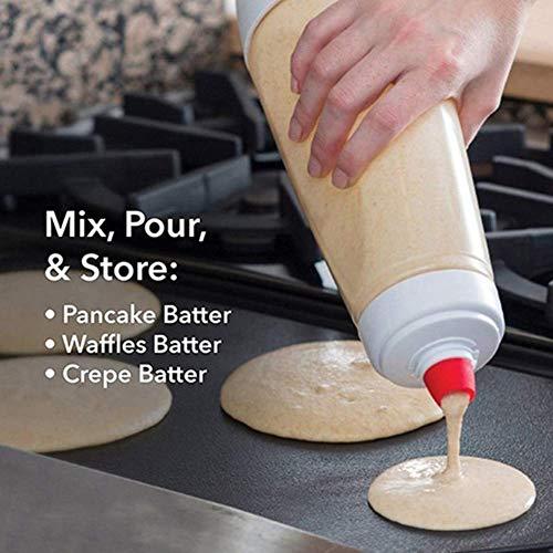 Vektenxi Küchenwerkzeuge Hand Teig Mixer Flasche Pfannkuchen Cupcake Creme Quetschpaste Dispenser Tool Transparent Hohe Qualität