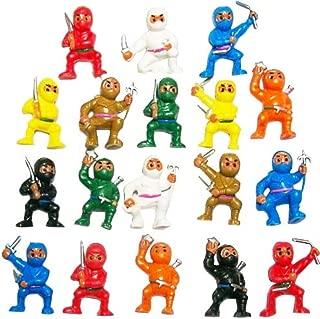 18 Mini Karate Ninjas Warriors Fighters Figures Cupcake Cake Toppers Ninja Kung Fu Guys Martial Arts Men Lot Party Favors