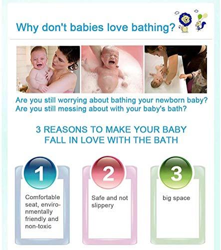 Asiento para bañera de bebé con bandeja, sillas de bebé para sentarse, alfombrilla suave antideslizante con almohadilla de detección de temperatura para bebés de 6 a 24 meses (morado)