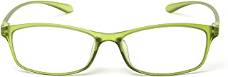 MIDI Colors Blue Light Blocking Reading Glasses for Women (M-209) Blue Light Filter Readers 1.0 1.5 2.0 2.5 3.0 (+1.50, Light Green)(m209c7150)