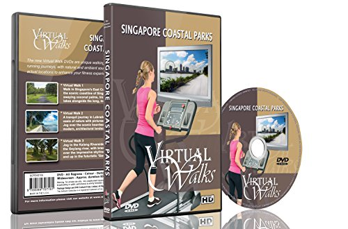 Virtual Walks - Singapore Coastal Parks for indoor walking, treadmill and cycling workouts