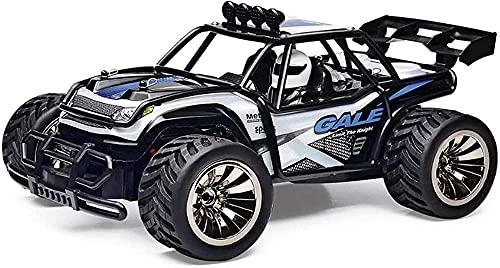 Todo-terreno escalada coche 1:16 control remoto de alta velocidad coche desierto vehículo todoterreno 2.4Ghz control remoto inalámbrico playa racing-azul