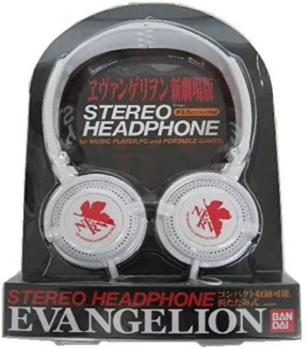 Evangelion Headphones EV-20C Nerv Weiß [JAPAN]