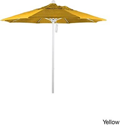 California Umbrella ALTO758170-5413 Aluminum/Fiberglass, Sunbrella Spa Umbrella, 7.5' Round