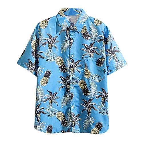 Find Cheap Blusas Hawaianas De Verano Mlide 2020 para Hombres Blusa Informal De Manga Corta Con Boto...