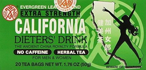 California Extra Strength Dieters' Tea (4 Boxes)