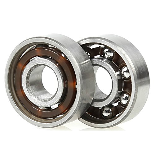 Fidget Spinner Bearings Set, Holody 10 PCS 608 Ball Center Replacement Parts Bearings Kit, Spin 3 Minutes
