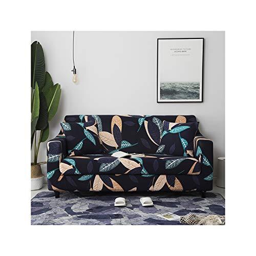 HGblossom Schnittsofabezüge aus Stretch Elastische Schonbezüge All Inclusive Sofa-Schonbezug aus Polyester Sofatuch für das Wohnzimmer Farbe 9 Viersitz 235-300 cm