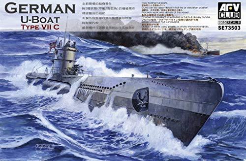 Unbekannt AFV-Club SE73503 - Modellbausatz U-Boot Type VII C