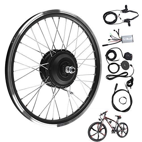 WYLZLIY-Home Kit de Bicicleta eléctrica Kit De Conversión De Bicicleta Eléctrica De Motor Trasero De 36V 250W Kits De Conversión De Bicicleta Eléctrica De Rueda 700C con Pantalla LED KT900S