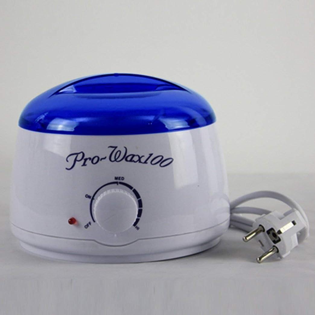 リビジョンぶら下がる不定暖かいワックスのヒーターの専門の鉱泉は足のパラフィンワックス機械温度調整の青いふたが付いているKerotherapy Depilatoryを手渡します (カラー:ゴールド&ブラック) (PandaW)