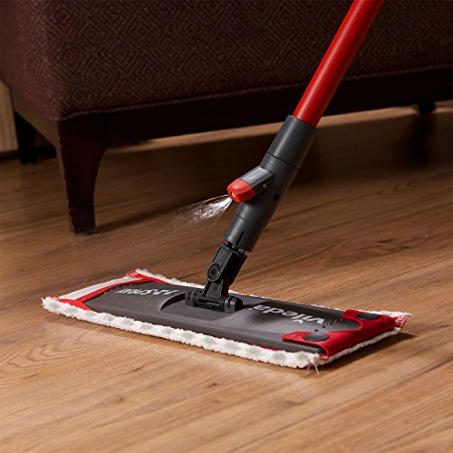 Vileda 1-2 Flat Spray Mop with Extra Microfibre Refill