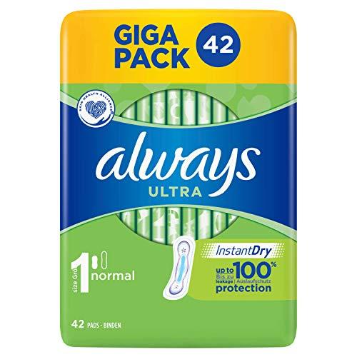 Always Ultra Normal Binden (Größe1) 42Stück