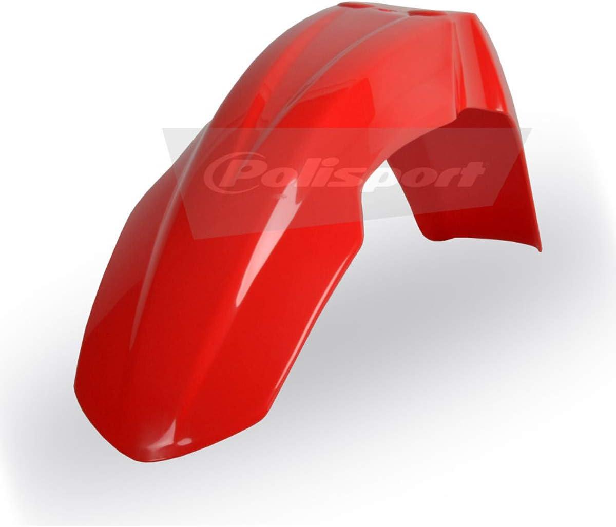 Polisport Front Fender RED 04-08 5 popular Honda for CRF450R Max 43% OFF