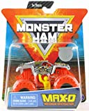 MJ 2019 Monster Jam Max-D with Orange Tires 1:64