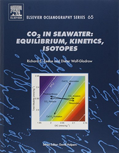 Co2 in Seawater: Equilibrium, Kinetics, Isotopes (Elsevier Oceanography Series (Volume 65), Band 65)
