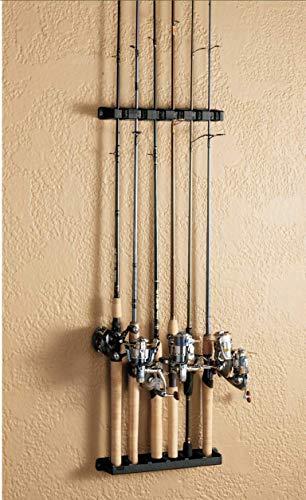 Berkley BAVRR Vertical Rod Rack, Black, 6 Rod Maryland