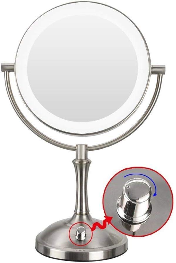 LIMEI-ZEN Bathroom Mirror Cosmetic Rotating Doub deg; Easy-to-use Boston Mall 360