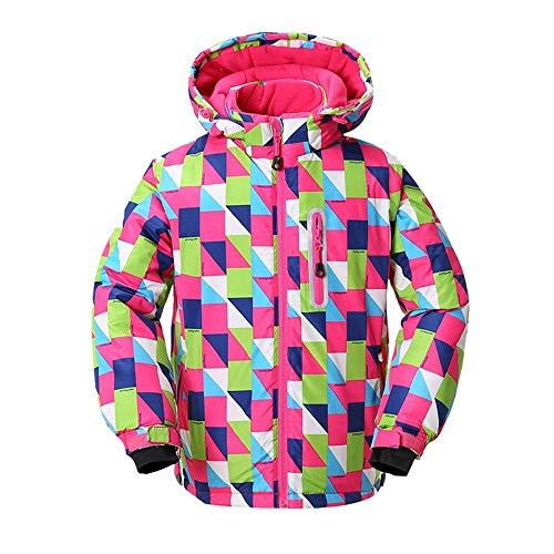 IXIIXI Skianzüge Outdoor Kinderskibekleidung Kinderbekleidung wasserdicht und Winddicht Dicke warme Jacke Outdoor Wandern Sportswear, C6,36