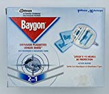 Baygon Insetticida/diffusore elettrico in blister/10ricariche zanzare/Zanzare tigri lunga durata 2in 1–Set di 4