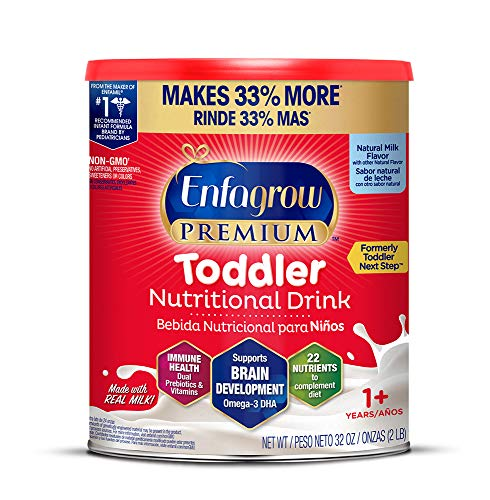 Enfagrow PREMIUM Toddler Next Step, Natural Milk Flavor - 32 oz. Powder Can (Packaging May Vary)