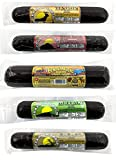 Pearson Ranch Game Meat Hickory Smoked Summer Sausage Variety Pack of 5 – Elk, Buffalo, Venison,...