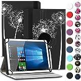 Nauci Tablet Hülle für Xido Z120 Z110 X111 X110 Tasche Schutzhülle Hülle Cover aus Kunstleder Standfunktion 360° Drehbar, Farben:Motiv 12