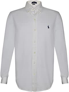 Mens Classic Featherweight Mesh Button-Down