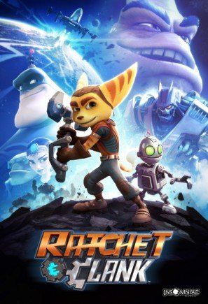 Ratchet and Clank - US Imported Movie Wall Poster Print - 30CM X 43CM