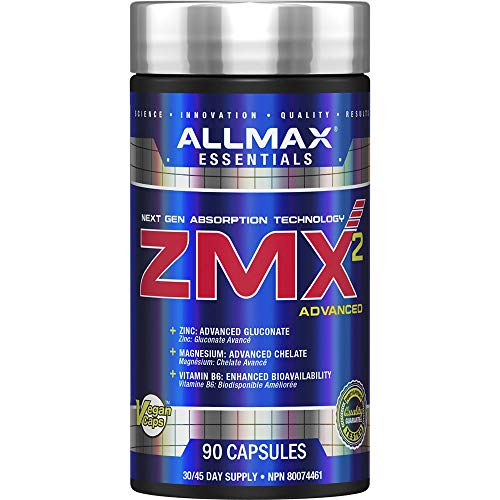 ALLMAX Nutrition - ZMX2, 90 Count