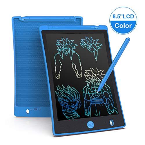 LCD schrijftablet 8.5 inch, draagbaar, Kleurrijk, ultra dun papier drawing schrijfbord geschenken voor kinderen, volwassenen, Office School en Home schrijfpads (Blauw)