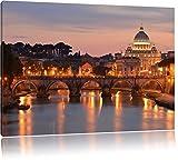 Vatikan Petersplatz Sehenswürdigkeit Format: 100x70 cm auf