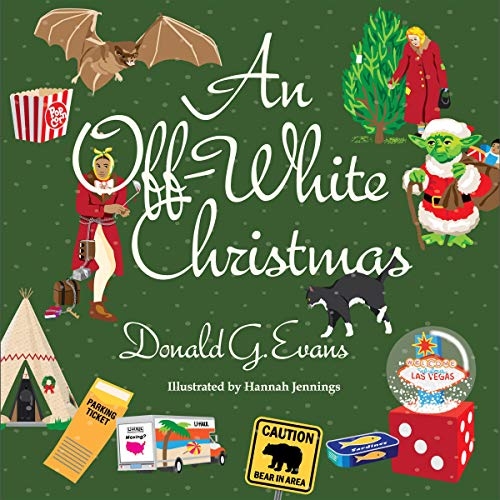 An Off-White Christmas audiobook cover art