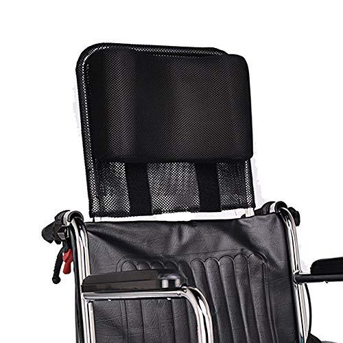 Wheelchair Headrest Neck Support Head Pillow Portable for Adults Travel Wheelchair Lightweight Padding Backrest Back Cushion Extension Headrest for Wheelchair Accessories (16-20
