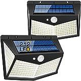 Salandens Luz Solar ,2 Paquetes Luces Solares de Exterior 212 LED / 3 Modos...