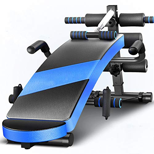 LIMX Adjustable Sit Up Bench - Home Gym Adjustable Utility Multi-Position Utility Bench for Full Body Exercise Workout Bench,C