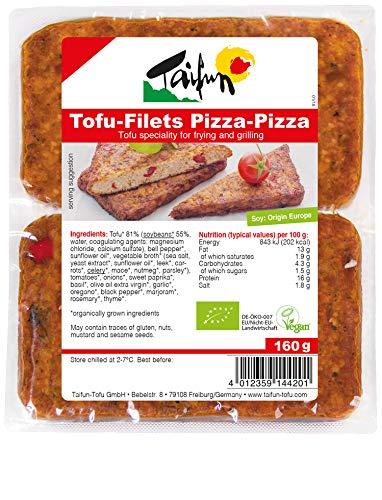 Taifun Pizza-Pizza Bratfilets (2 Stück), vegan, 160g