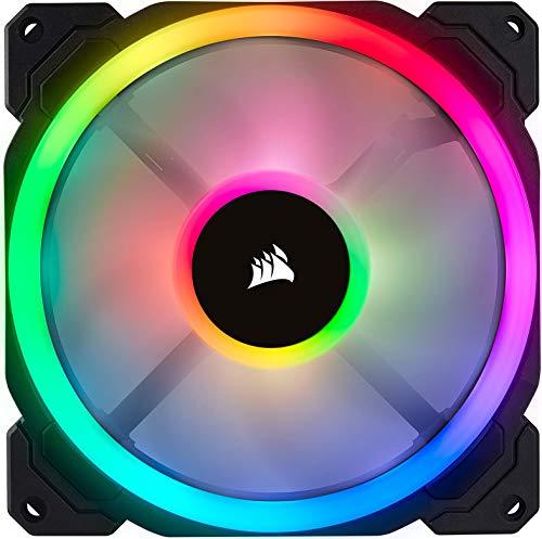Corsair LL140 RGB Ventola LED PWM, Dual Light Loop RGB 1 pezzo