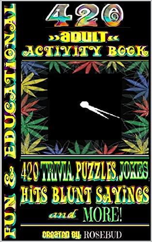 420 Adult Activity Book (English...