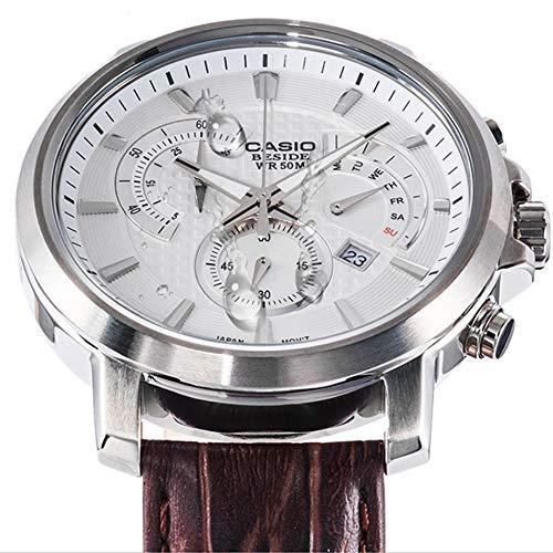 JYTFZD YANGHAO-Reloj de Pulsera- Hombres Casual Reloj de Cuarzo de Moda Retro Serie Classic de Negocios OUZDNSSB-5