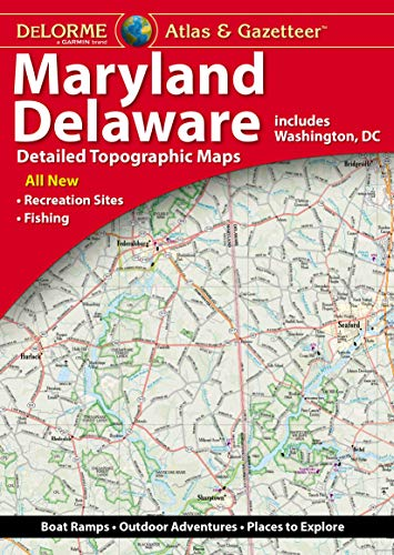 Compare Textbook Prices for DeLorme Maryland/Delaware Atlas & Gazetteer 5th ed. Edition ISBN 9781946494276 by Delorme