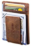 VIOSI Money Clip Leather Wallet For Men Slim Front Pocket Credit Card...