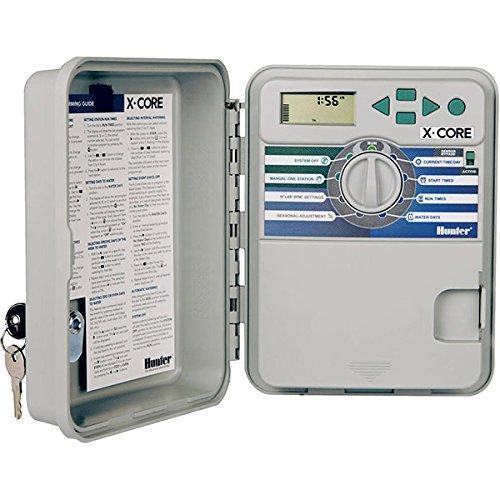 HUNTER - XCH-1200 Programmiergerät mit 12 hybriden Stromstationen mit 9 V. und 230 vca.Außen-/Innenausstattung (Lieferung ohne Leuchtmittel)