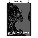 Mr. & Mrs. Panda Poster DIN A5 Stadt Wilhelmshaven Stadt